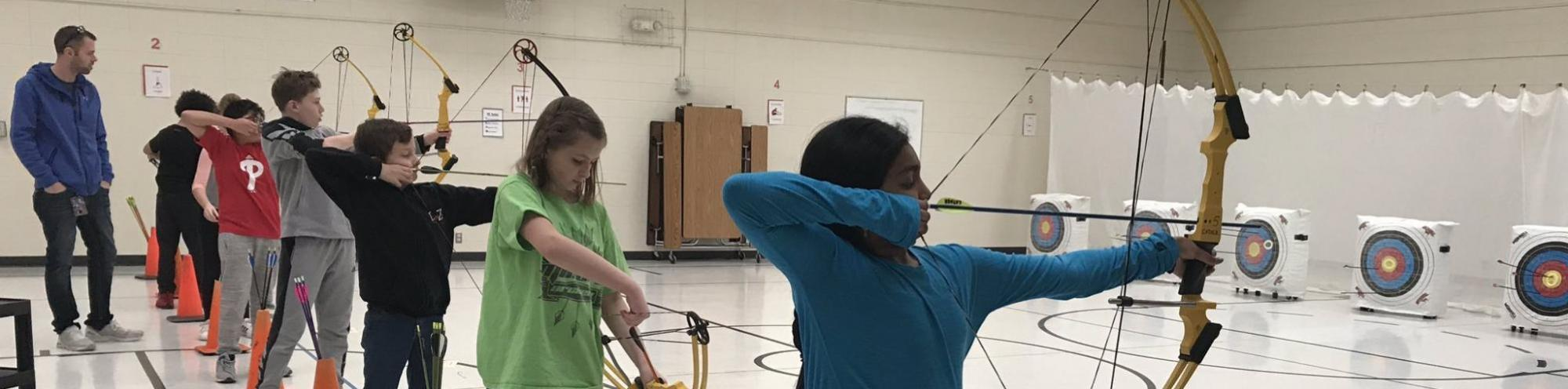 Cather Archery Club Practice