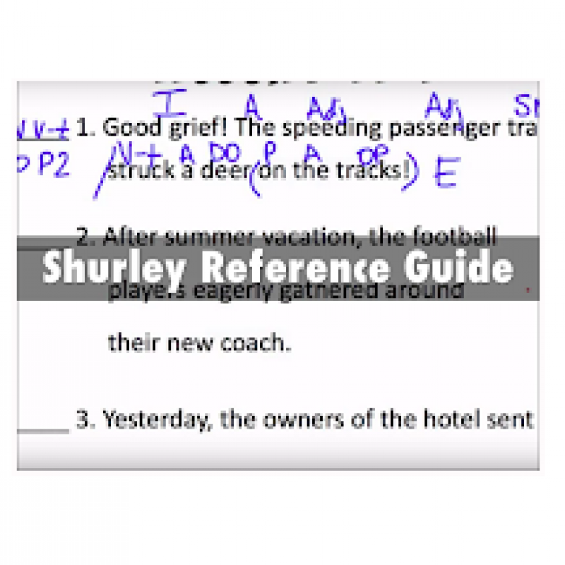 Shurley Reference Guide